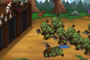 《兽人防卫战》游戏画面1
