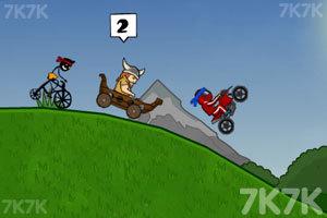 《自行车环球赛2中文版》游戏画面1