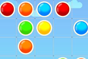 《消除颜色小球》游戏画面1