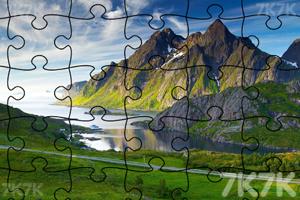 《美丽场景拼图》游戏画面3