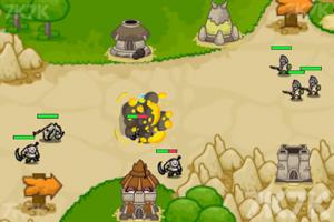 《防守兽人入侵》游戏画面1