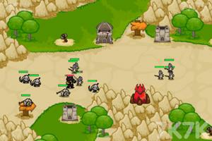《防守兽人入侵》游戏画面2