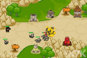 《防守兽人入侵》游戏画面3