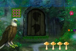 《奇幻森林营救老鹰》游戏画面1