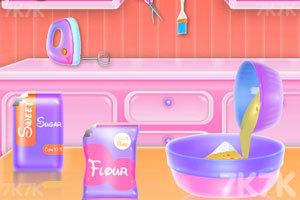 《独角兽蛋糕烹饪》游戏画面3