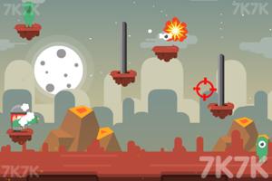 《炮轰外星小怪》游戏画面3