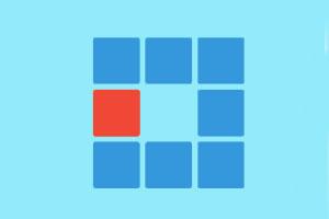 《改变方块颜色》游戏画面1