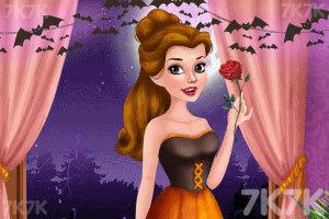 公主万圣节城堡派对