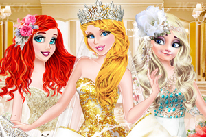 《新娘的华丽婚纱》游戏画面1