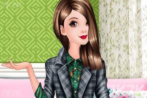 《复古装的女孩》游戏画面1