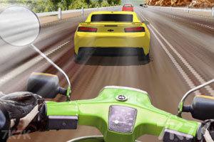 《摩托车高速模拟驾驶》游戏画面1