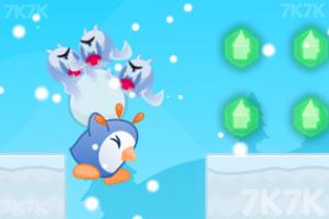 《护送企鹅蛋回家》游戏画面1