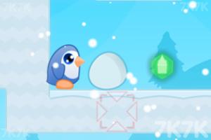 《护送企鹅蛋回家》游戏画面2