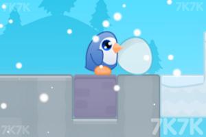 《护送企鹅蛋回家》游戏画面3