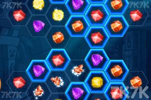 《寺庙珠宝对对碰》游戏画面3