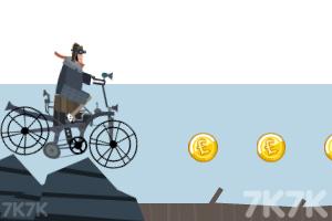 《自行车越野赛》游戏画面2