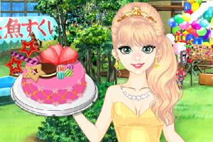 《奥莉的派对蛋糕》游戏画面1