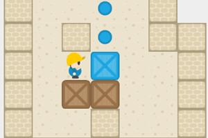 《木箱搬运工选关版》游戏画面1