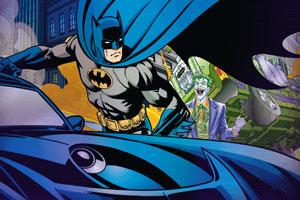 蝙蝠战车街道大战