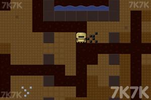 《挖地老矿工中文无敌版》游戏画面2