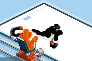 《猴子冰球大赛》游戏画面1