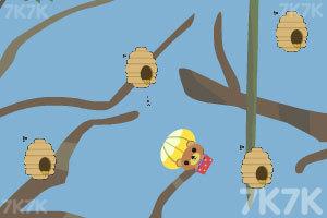 《小熊采蜂蜜》游戏画面4