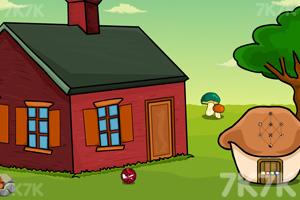 《男孩逃出花园》游戏画面2