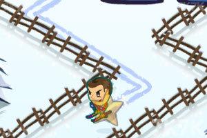 《滑雪挑战》游戏画面2