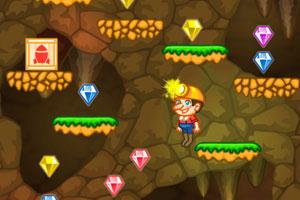 《矿工挑战一百层》游戏画面1