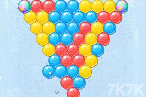 《颜料球泡泡龙》游戏画面1