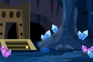 《逃出神秘水晶洞穴》游戏画面1