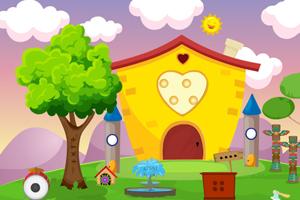 《救援高兴的小女孩》游戏画面1