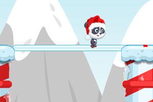 熊猫过冰桥