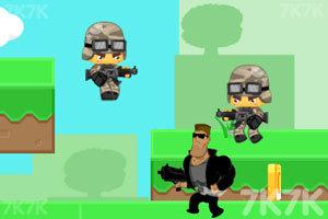 《勇敢者的攻击》游戏画面3