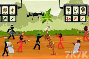 《火柴人戰隊之戰》游戲畫面1