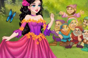 白雪公主童话装