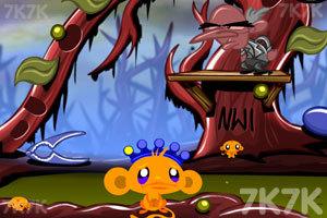 《逗小猴开心之世界旅行3》游戏画面1