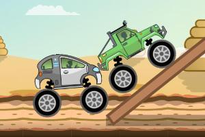 《怪物卡车障碍赛选关版》游戏画面1