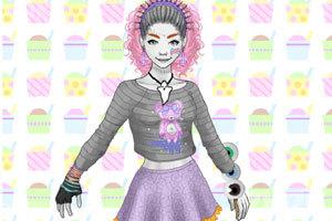 《变异女孩的装扮》游戏画面2