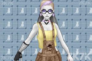 《变异女孩的装扮》游戏画面1