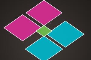 《消除粉色方块》游戏画面1