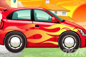 《宝宝爱洗车》游戏画面3