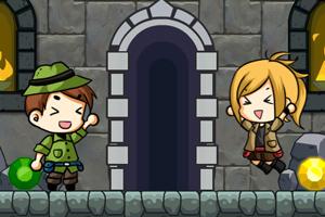 《迷宫塔选关版》游戏画面1