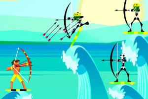 冲浪的弓箭手无敌版
