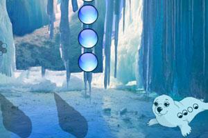 《逃离白色海豹洞穴》游戏画面1