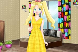 彩丽公主日常装扮