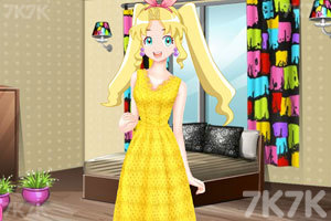 《彩丽公主日常装扮》游戏画面1