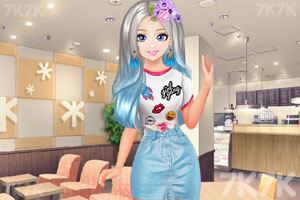 《甜美奥莉暑假逛街》游戏画面2