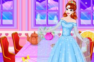 贝儿公主的晚礼服