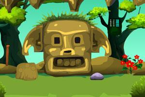《森林洞穴逃跑》游戏画面1